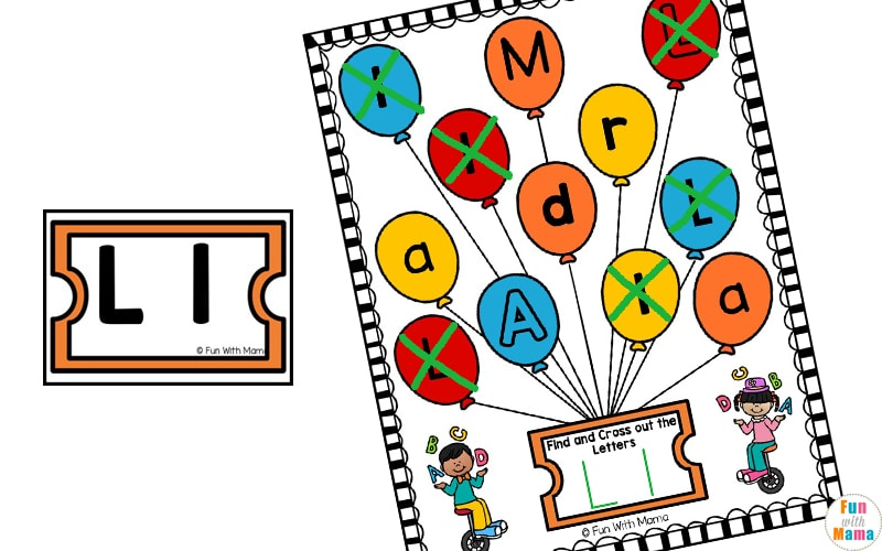 preschool letter learning