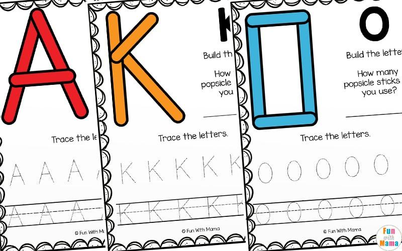 uppercase letter learning
