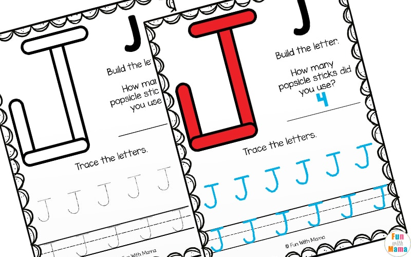 Uppercase letters worksheets