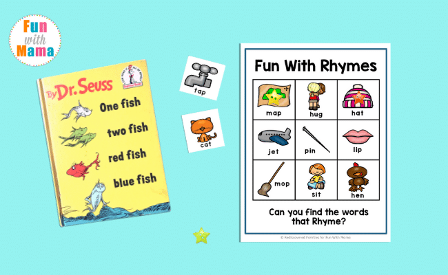fun rhyming game for kids