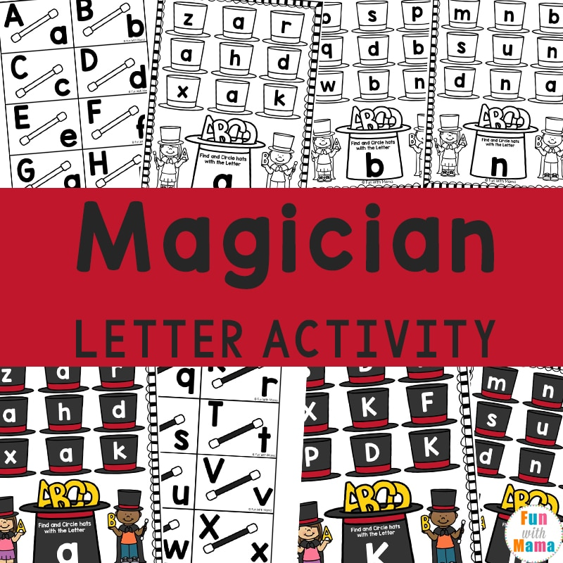 Magician Letter Learning