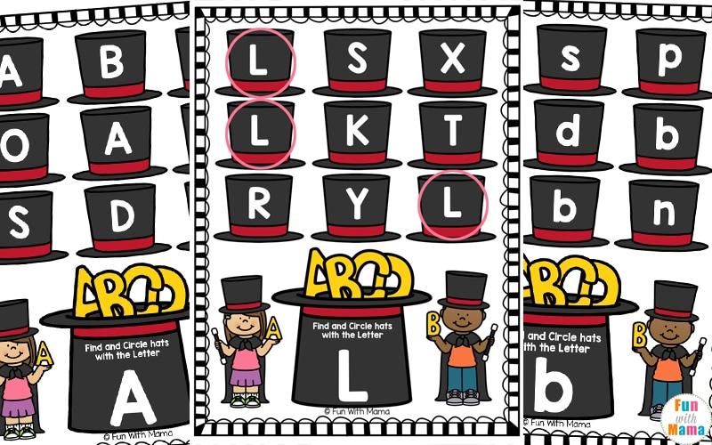 alphabet letter learning