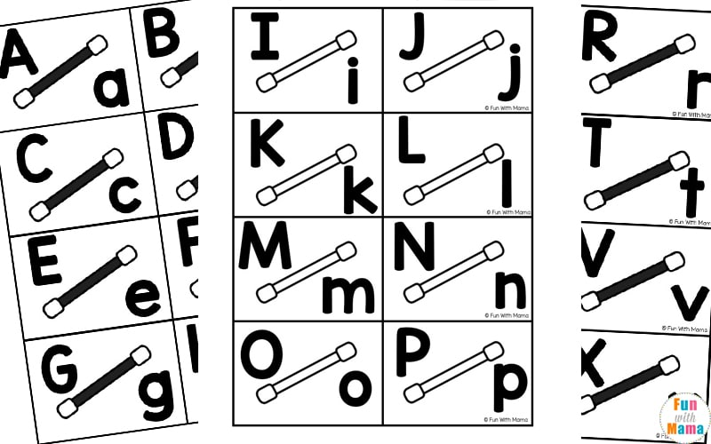 recognizing letters