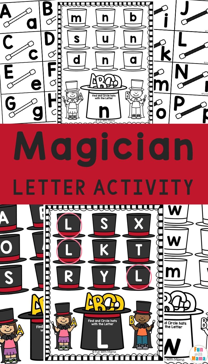 magician letter activity
