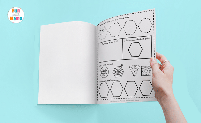 My Printable Book of Shapes: An Activity For Preschoolers