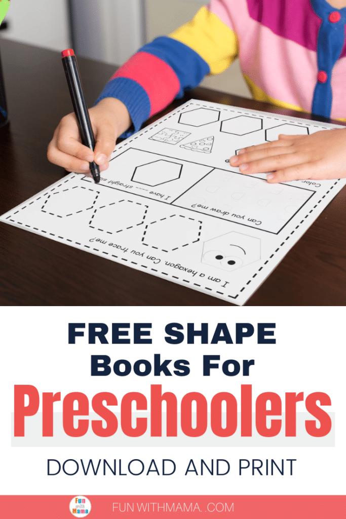 printable book of shapes