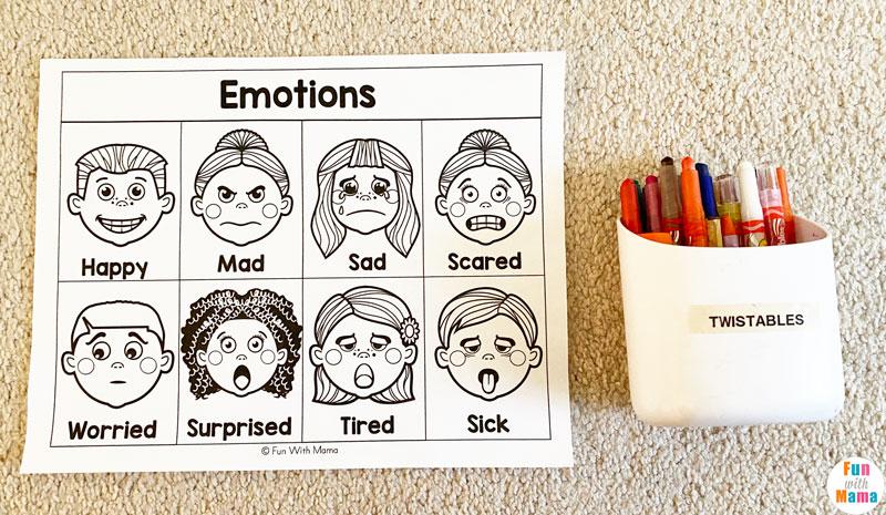 teaching feeling