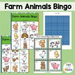 Farm Animal Bingo – Printable Free Bingo Cards
