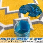 How To Get Slime Out Of Carpet Easily + Stay Sane!