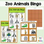 Zoo Bingo Game For Kids – A Fun Animal Bingo Game