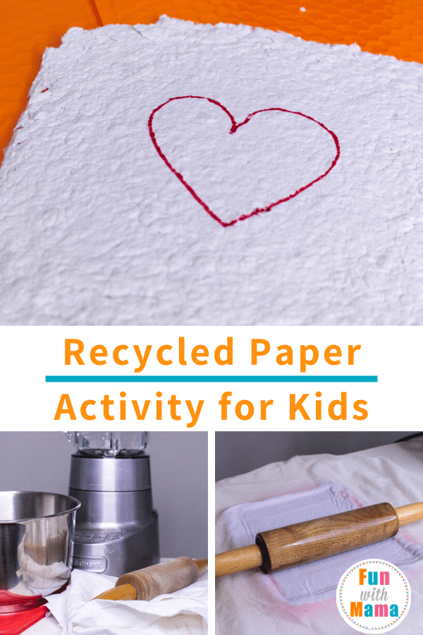 Paper Making Process with Recycled Paper