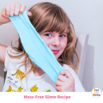 Easy Mess-Free Non Sticky Slime Recipe