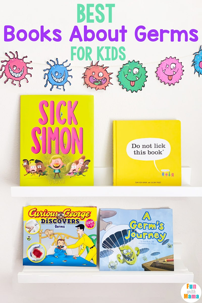 best books about germs for kids