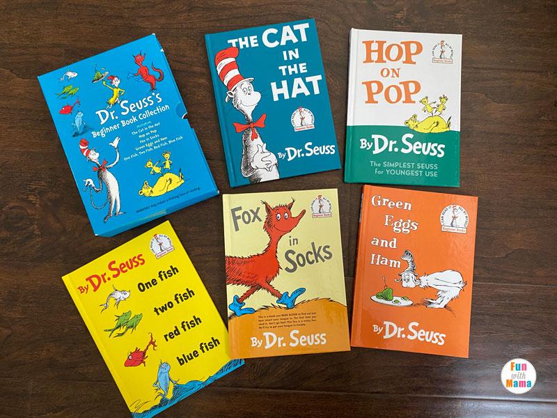 Dr Seuss Books set