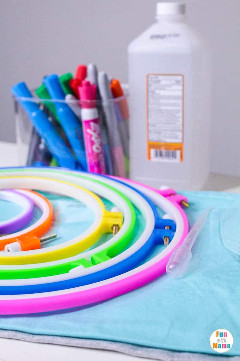 tie dye activity for kids