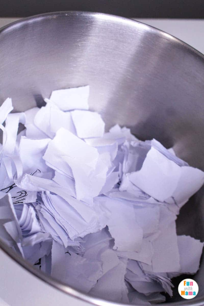 reusing paper for this paper making process