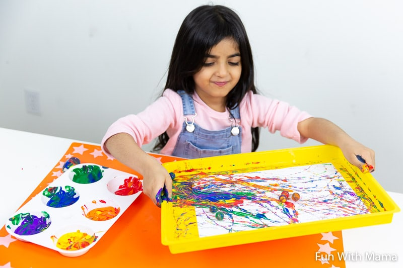 messy play fun for kids