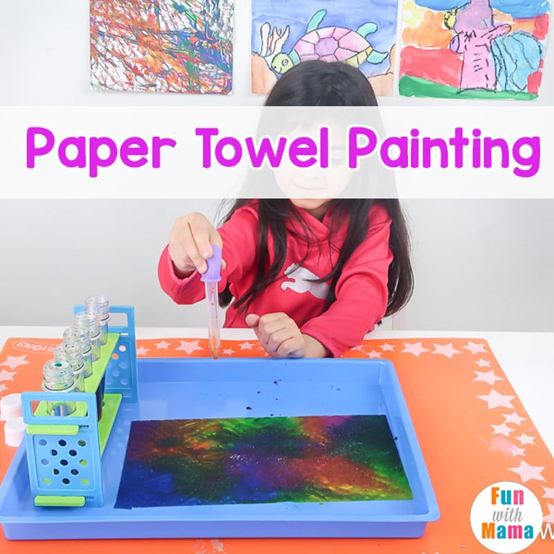 Paper Towel Painting