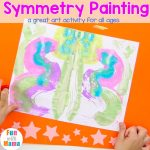 Symmetry Painting – Fun Art Activity For All Ages