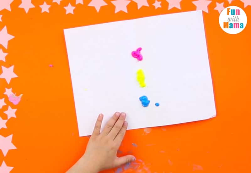 kids symmetry painting
