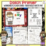 Kindergarten Sight Words – Dolch Primer Sight Words
