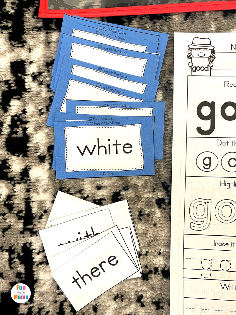 sight words for pre-k