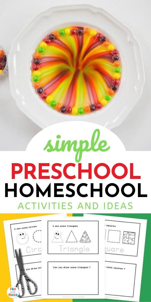 preschool homeschool resources for parents