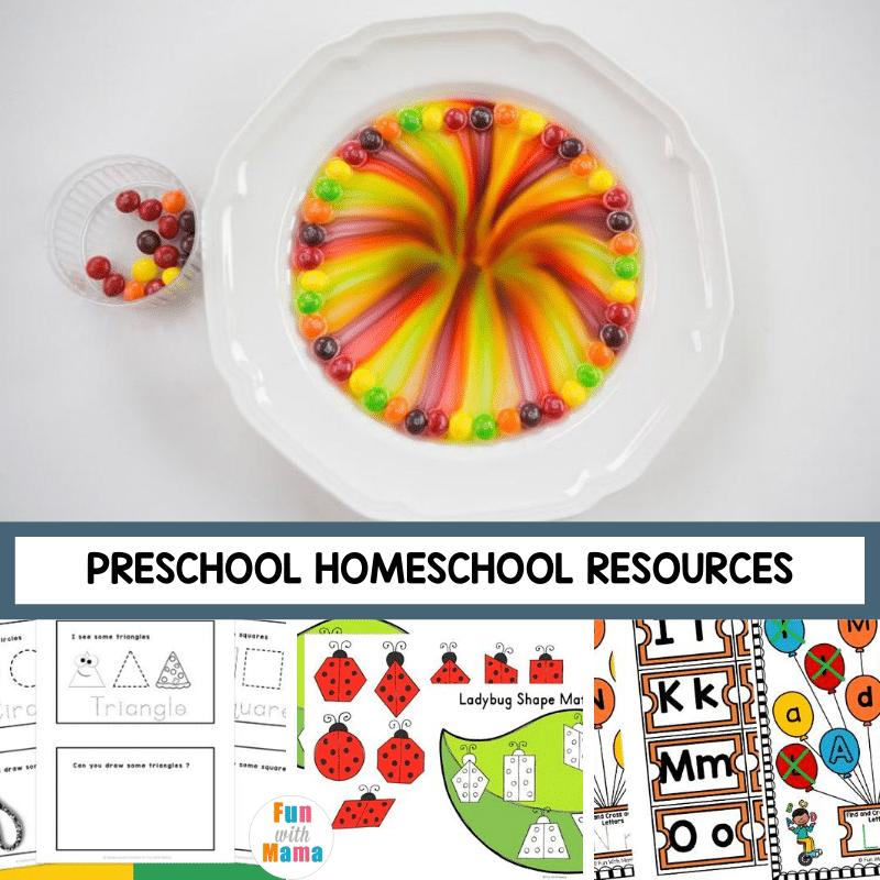 preschool homeschooling resources
