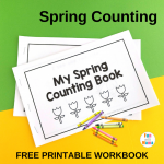 Spring Worksheets and Printable Coloring Pages for Young Learners