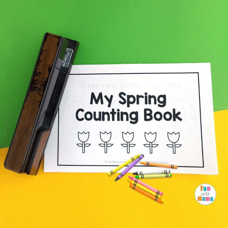 spring counting book