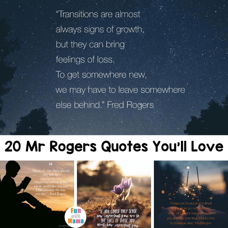 Mr Rogers Quotes To Spread Kindness And Love Fred Rogers Fun With Mama