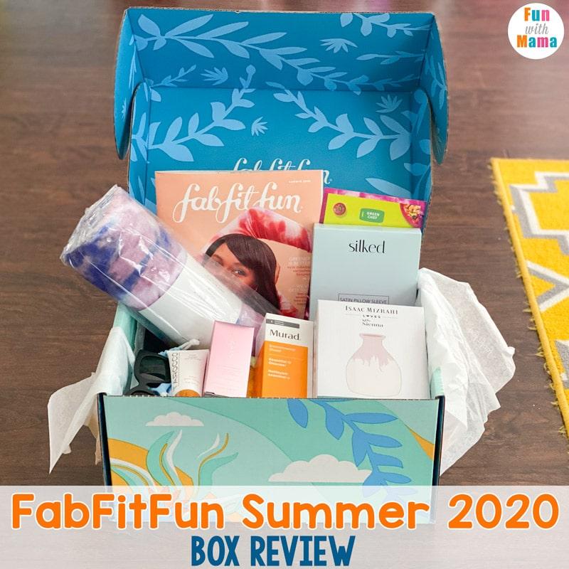 FabFitFun Summer 2020 box