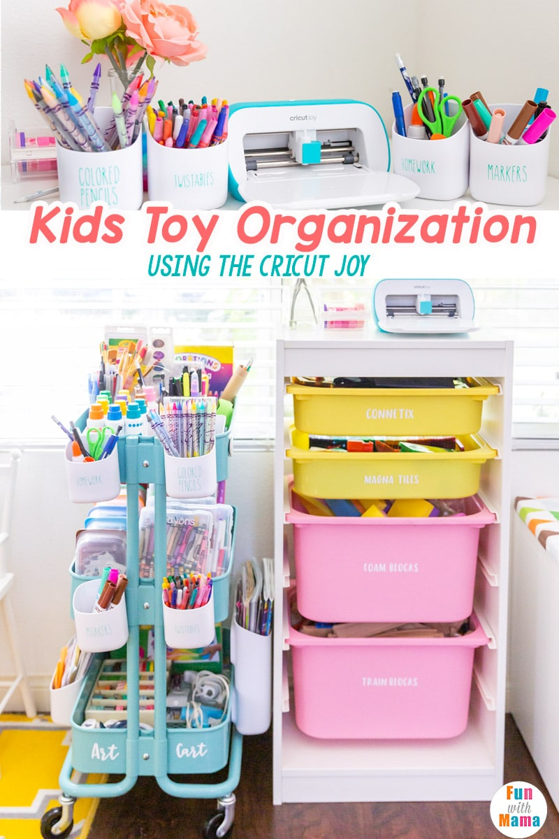 kids toy storage using the Circuit joy