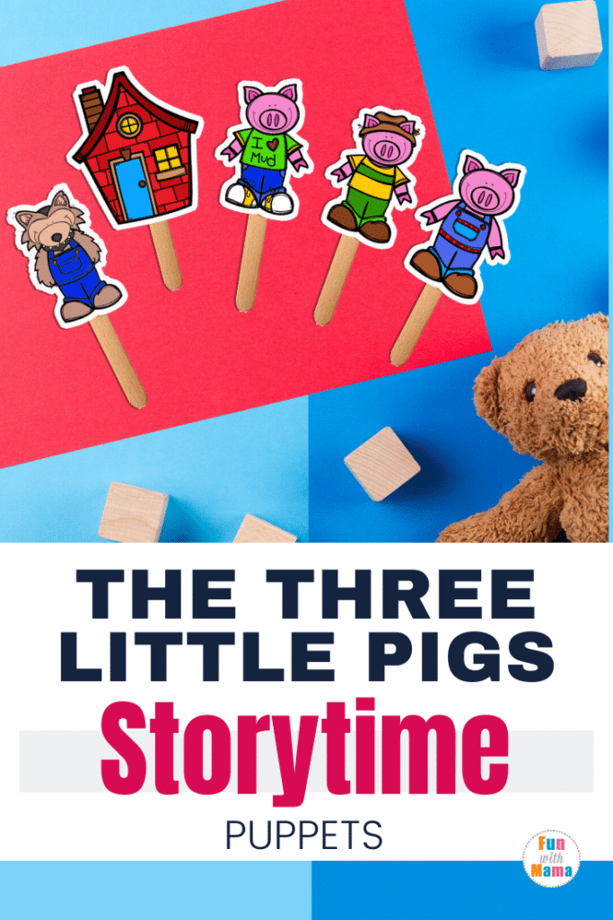 stick puppets for story time pin