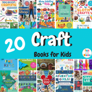 children craft books