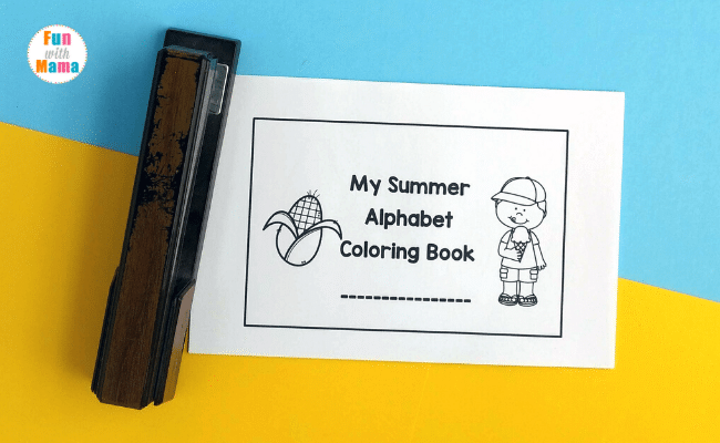Summer Coloring Pages Printable For Young Learners