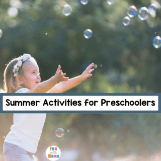 fun summer activities for preschoolers