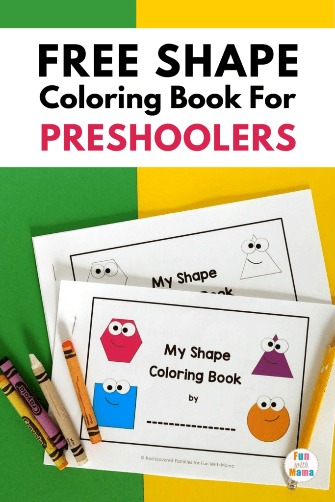 - Free 2D Shape Coloring Book - Shape Coloring Pages For Preschoolers - Fun  With Mama
