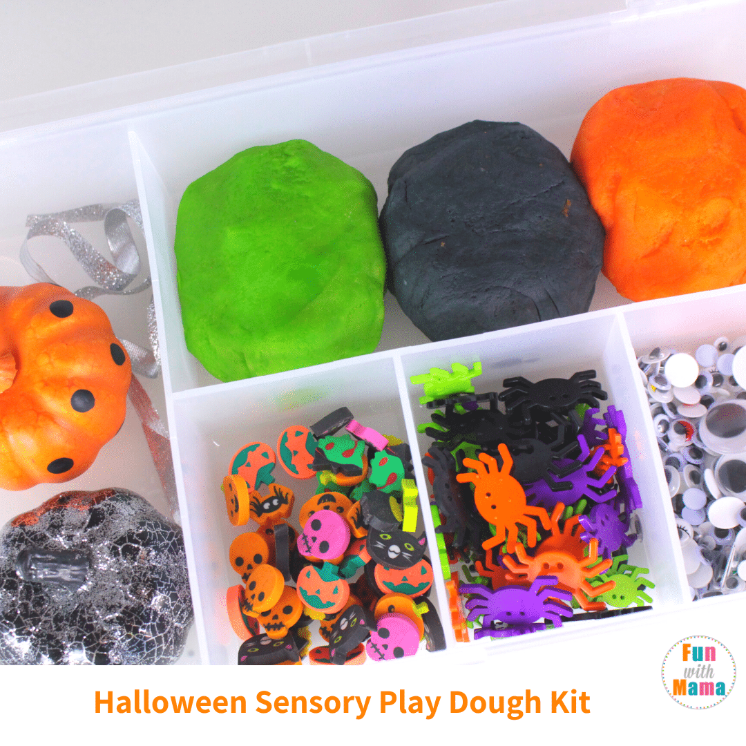 halloween play dough kit