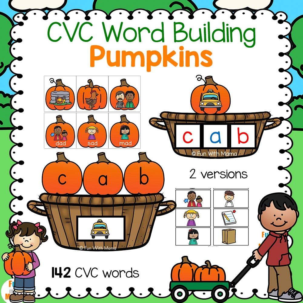 CVC Worksheets