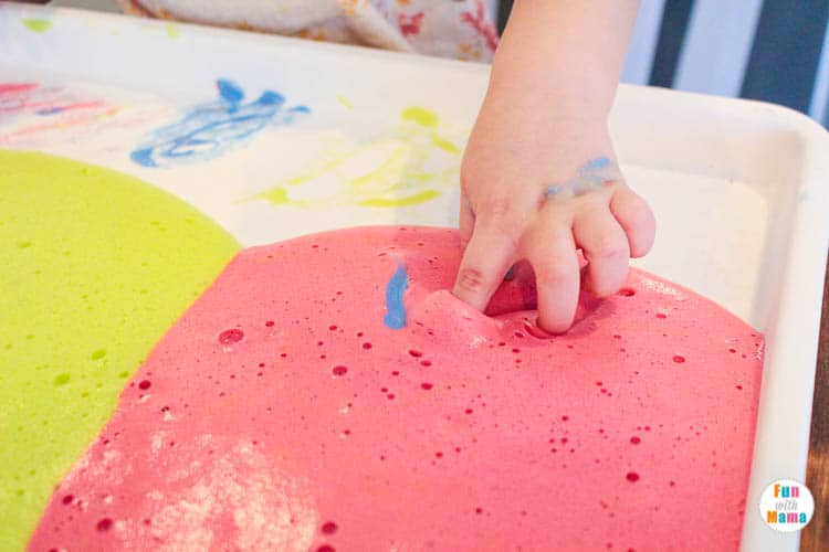 sensory play activity for kids