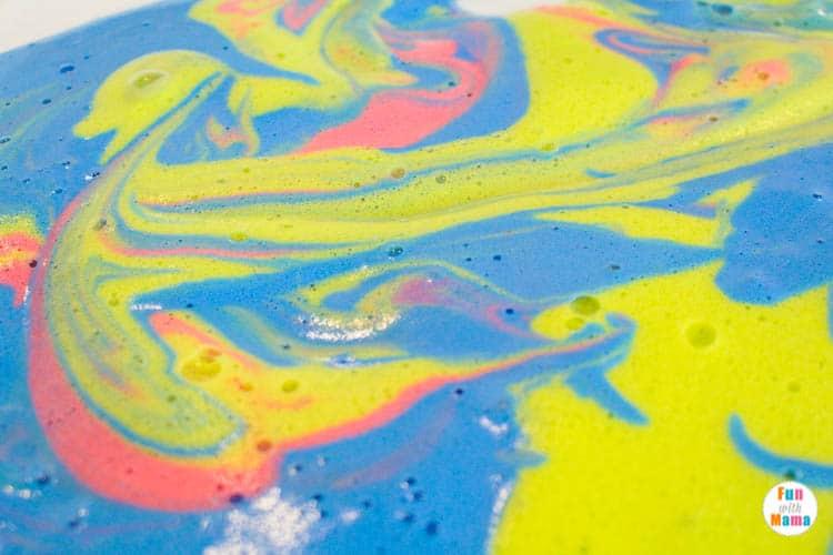 messy play foam soap