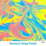 DIY Sensory Foam Play Recipe