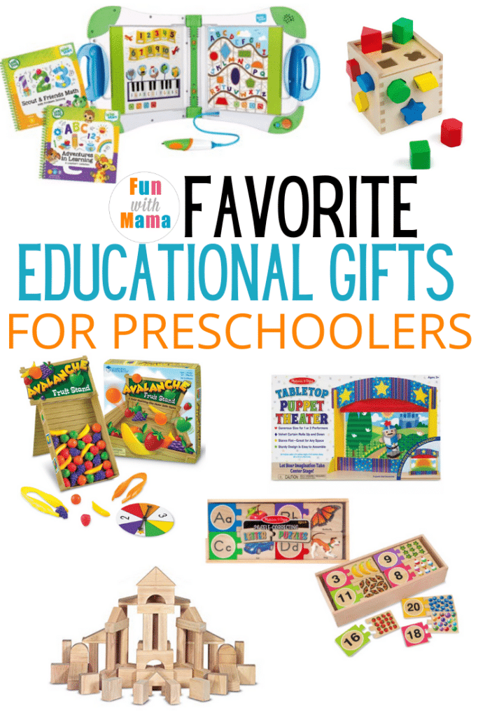 educational gift ideas for preschoolers