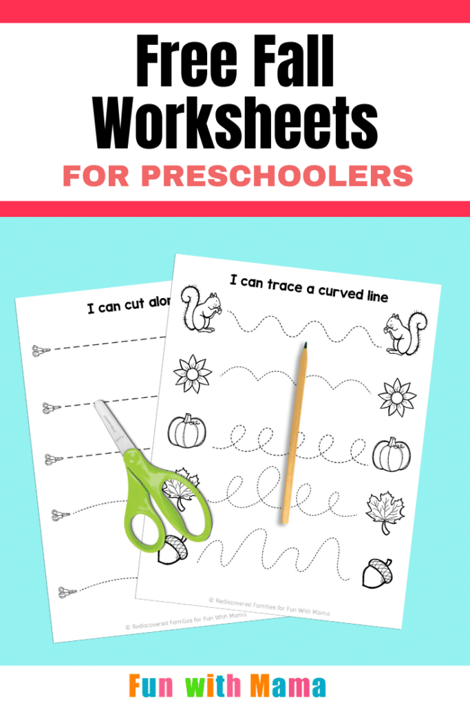 fall worksheets ready to use