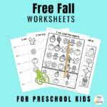 Fall Worksheets For Preschool (Free Printable!)