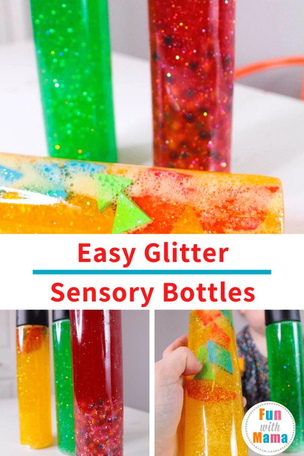 Easy Glitter Sensory Bottles