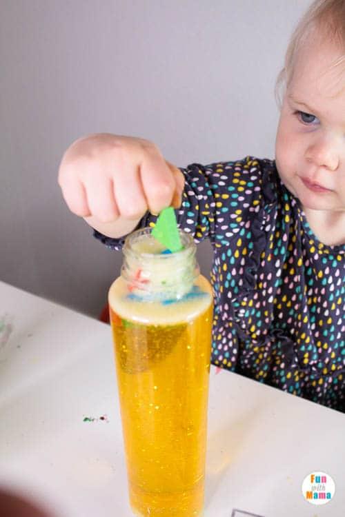 easy DIY sensory activity