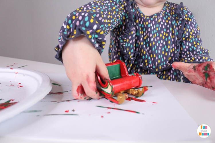 preschool process art activity