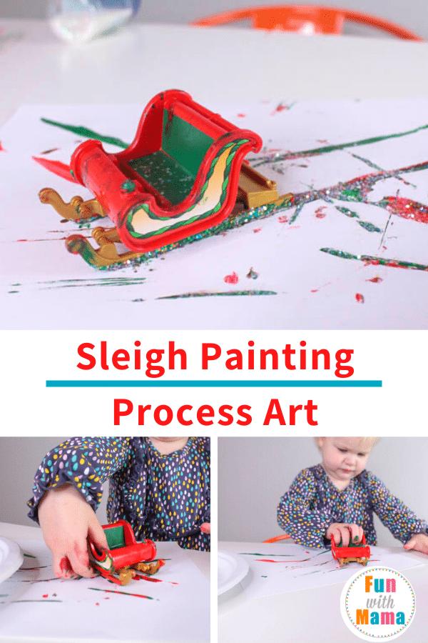 Process art activity for preschoolers